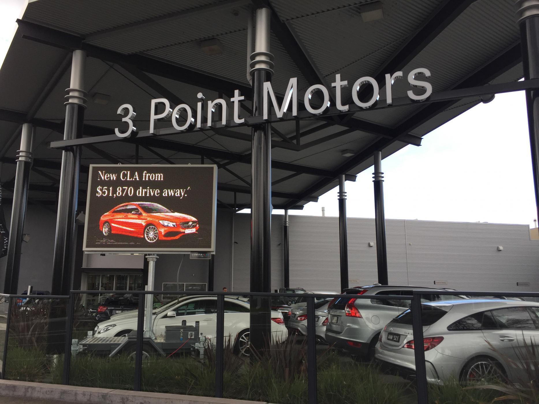 3 Point Motors - Fairfield