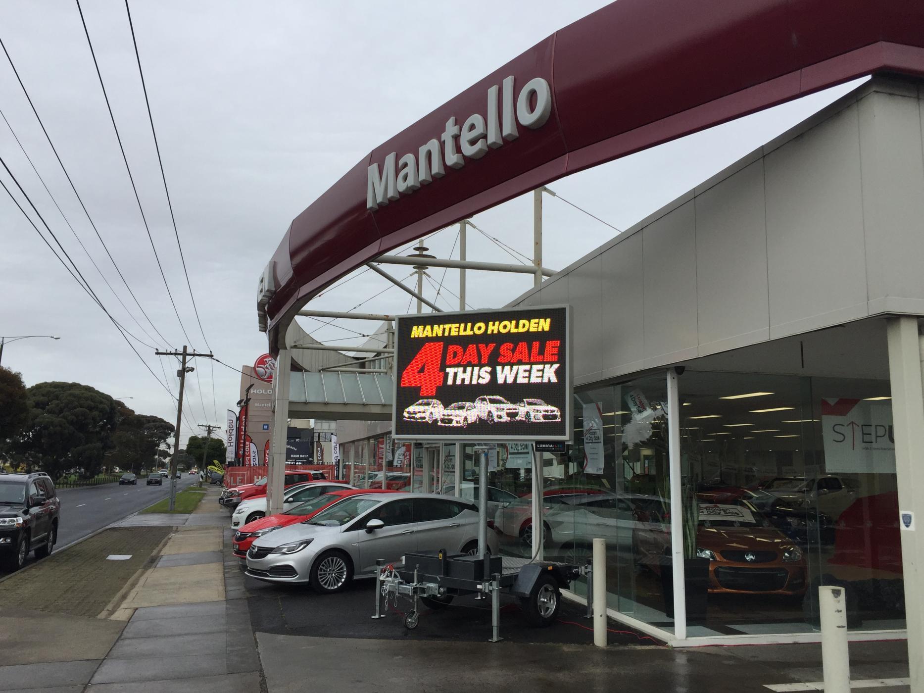 Mantello Holden Fawkner  - 4 Day sale