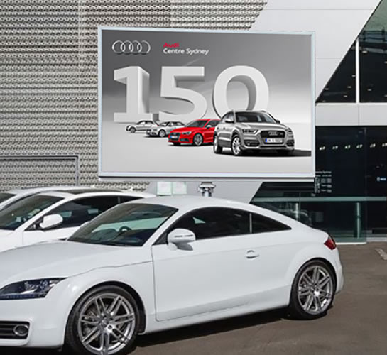 Mobile LED Sign - Audi